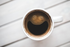 coffee happy face