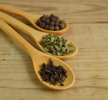 spices in sppon